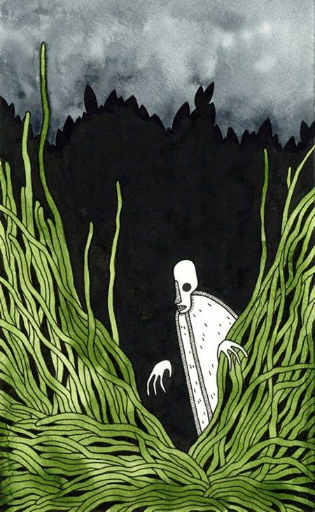 Every Page of Joseph Conrad's Heart of Darkness, Illustrated by Self-Taught Artist Matt Kish | Brain Pickings
