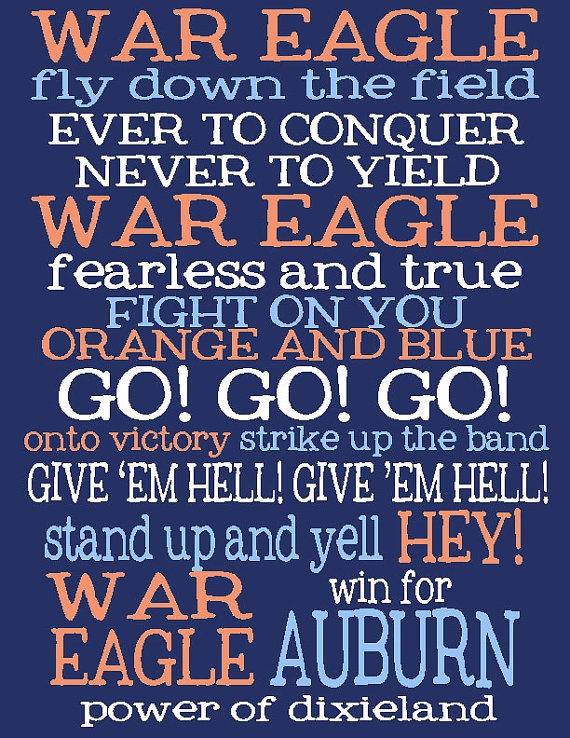 War Eagle!!