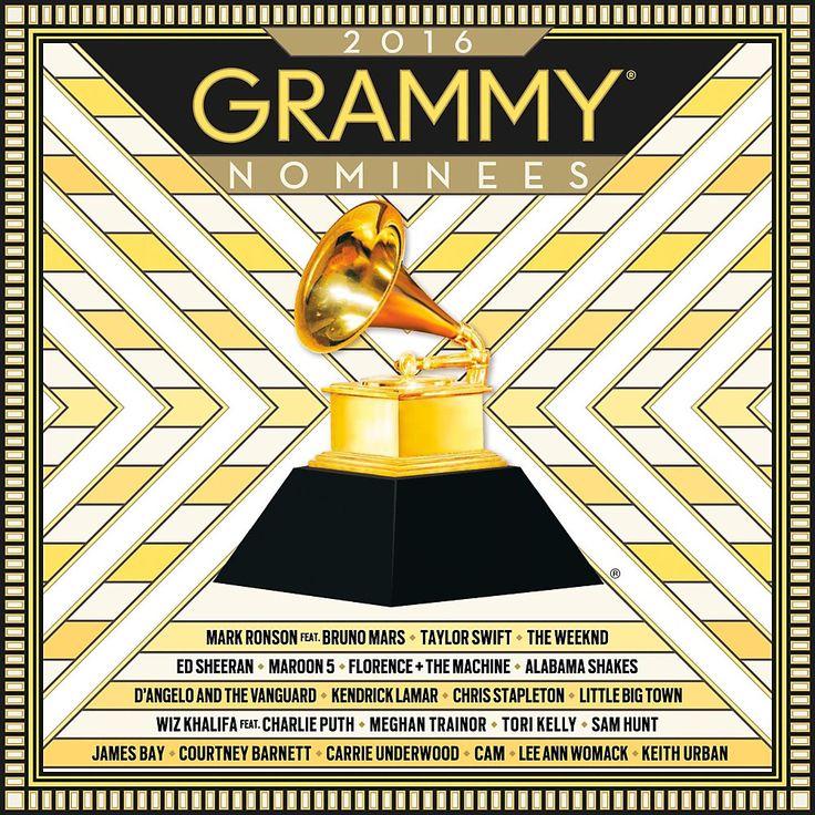 Universal Music Group UMD B002435602 2016 GRAMMY Nominees CD