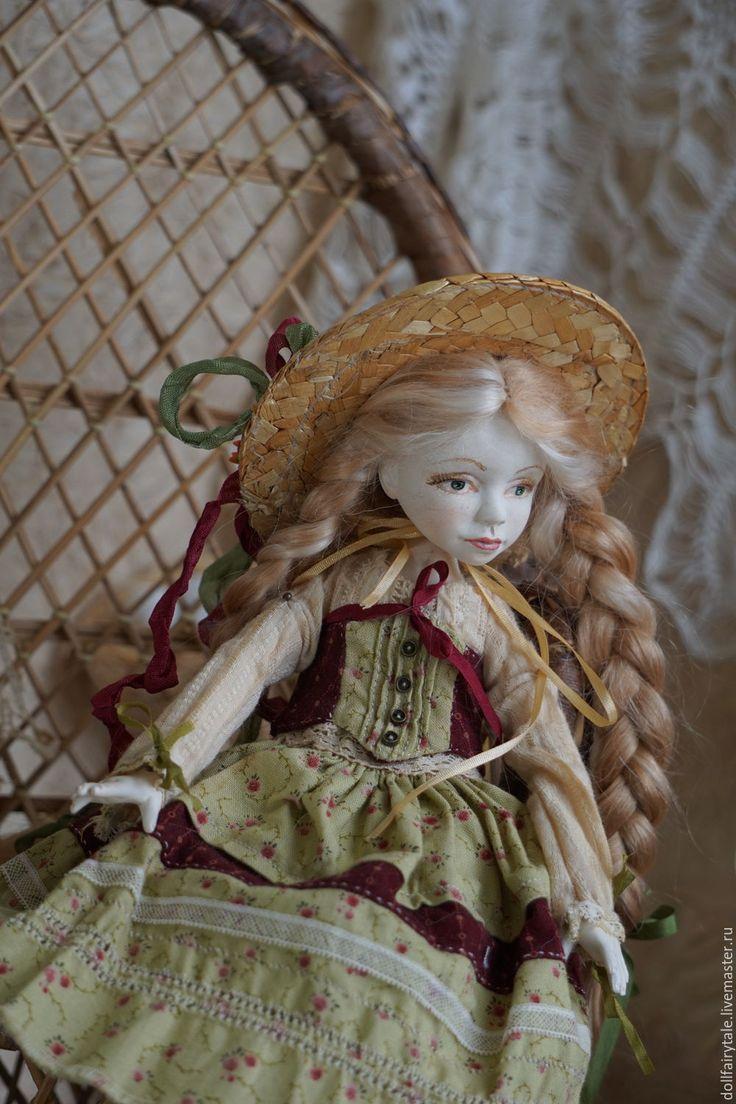 Купить Аннушка - бежевый, бордовый, бохостиль, кантри стиль, кантри шебби деревенский, деревенский стиль