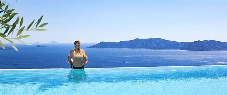 CSky Hotel, Santorini, Greece -  With a stay at CSky Hotel in Santorini (Imerovigli), you'll be close to Cape Columbo Beach and Archaeological Museum. This 4-star hotel is within close proximity of Skaros Rock and Baxedes Beach. Get the best rates at http://www.lowestroomrates.com/Santorini-Hotels/CSky-Hotel.html?m=p #luxurybeachresorts
