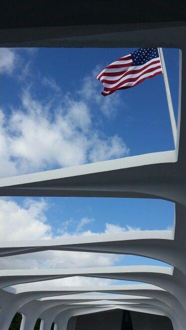 Pearl habour monument . . . . Americaaaaa . . . . . Fukyea . . . . Goinouttheretosavethemuthafukn day yea