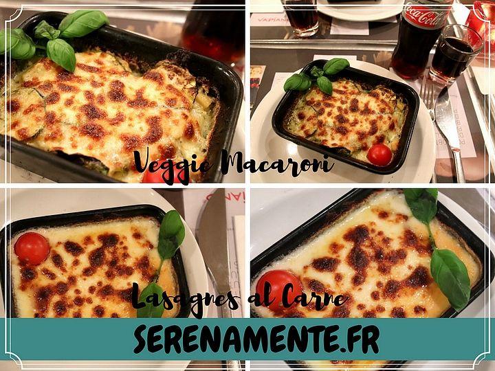 Découvrez vite mon avis sur les pâtes au four chez Vapiano ! Lasagnes ou macaronis, il y a du choix même pour les végétariens ! Ce sont les dernières nouveautés du moment ! #vapiano #pates #pasta #lasagnes #macaroni #italianfood