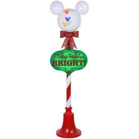 Disney 4.99-ft Freestanding Licensed Lamp Post with with Constant Multicolor LED Lights Lights