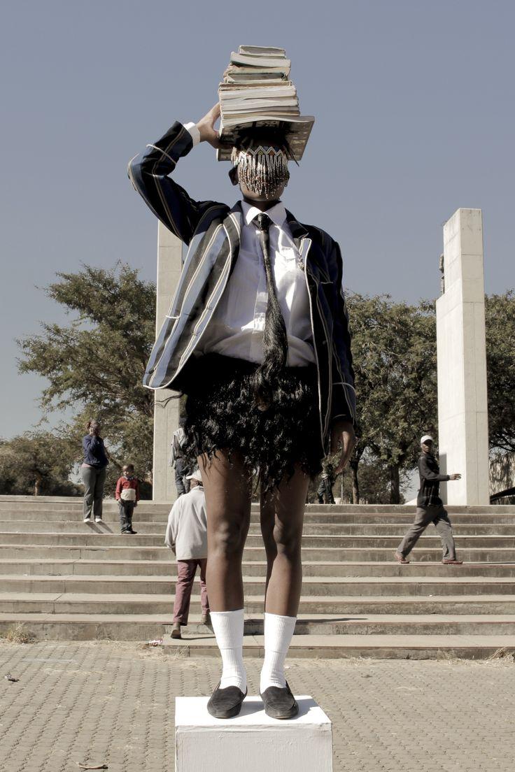 Barclays L'Atelier 2015 Entry -Sethembile Msezane