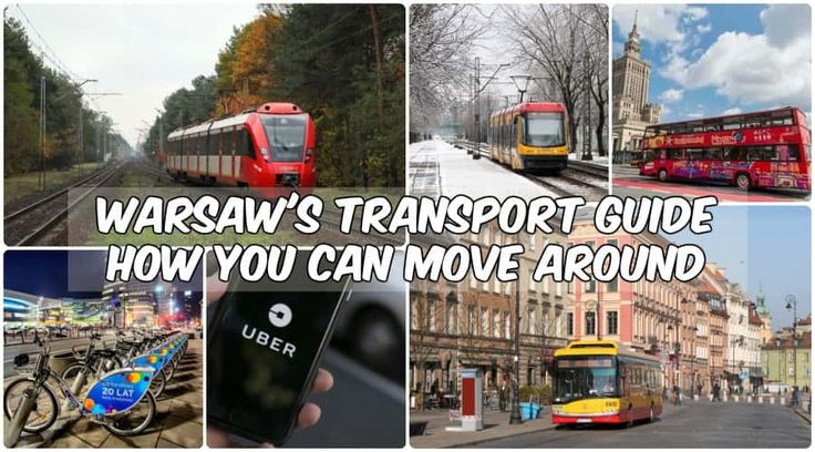Different transportation options when traveling to Poland | Warsaw Transport Guide