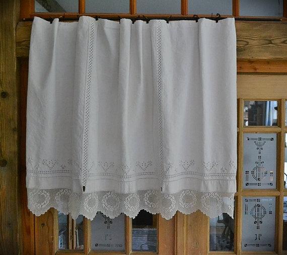 Linen Arts Crafts Curtains