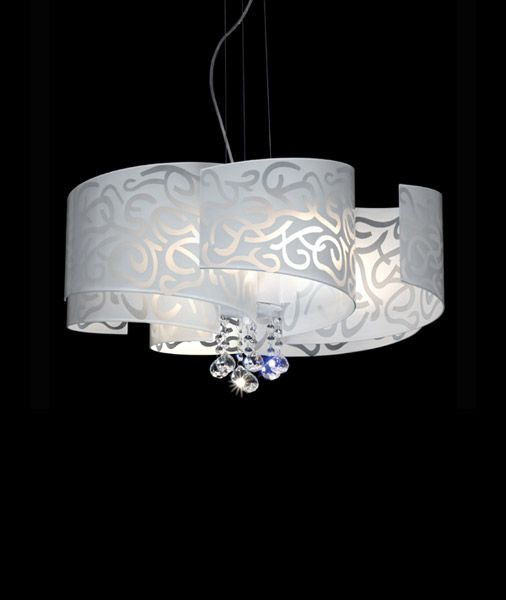 17 Best images about lampadari moderni on Pinterest   Blog, Search and Design -> Lampadari Moderni Policarbonato
