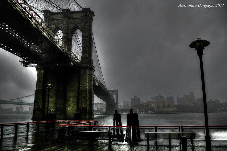 Brooklyn Bridge (New York) / by Alessandro Borgogno