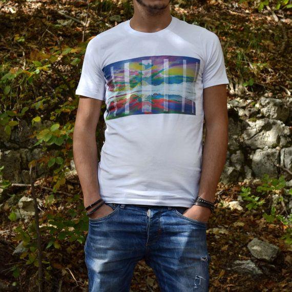 Printed t-shirt - Psycho Mountain