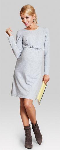 Babe melange Maternity dress