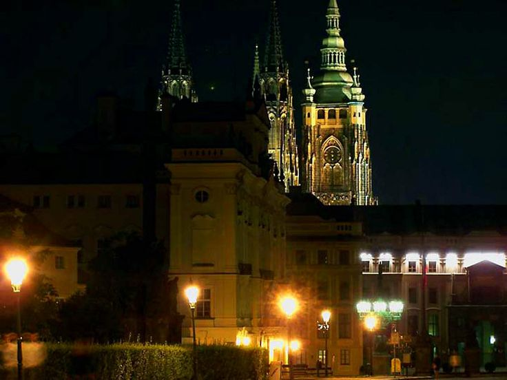Hradcany is the castle district of the city of Prague, Czech Republic, surrounding the Prague Castle.