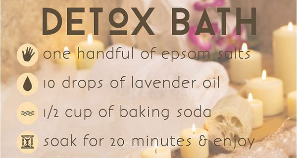The DIY Detox Bath – Have a Home Spa Day And Soak Away Aches, Pains, Harmful Toxins, Pesticides And Heavy Metals