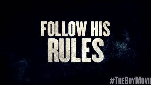 The Boy TV SPOT - Rule #3_ Kiss Him Goodnight (2016) - Diana Hardcastle - Video Dailymotion - The Boy TV SPOT - Rule #3_ Kiss Him Goodnight (2016) - Diana Hardcastle