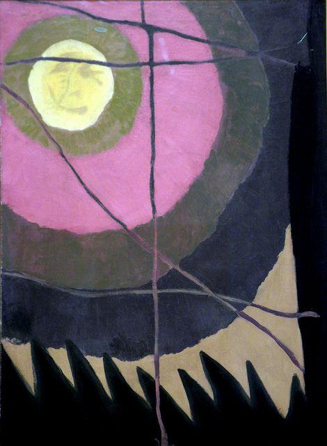 Arthur Dove - City Moon at Hirshhorn Art Museum Washington DC by mbell1975, via Flickr
