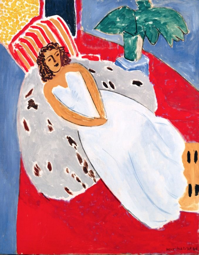 Henri Matisse / Red,White and Blue