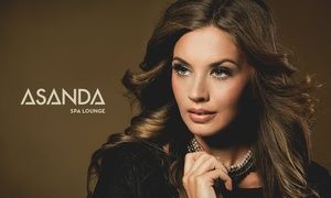 Groupon - All-Over Color, Highlights, or Ombre or Balayage Artistry Color at Asanda Aveda Spa Lounge (Up to 51% Off) in Multiple Locations. Groupon deal price: $69