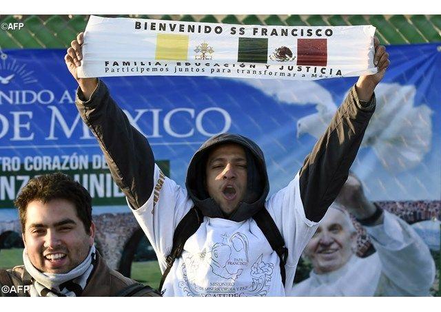 Esta tierra tiene sabor a Guadalupana, la que siempre se nos adelantó en el amor, Ángelus del Papa en Ecatepec - Radio Vaticano