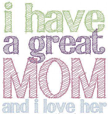 <3 you, mom!