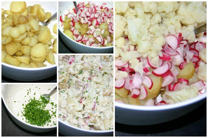 Kartoffelsalat collage