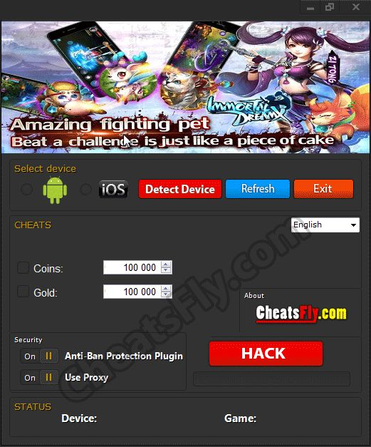 Immortal DreamX Hack Cheats For Android iOS
