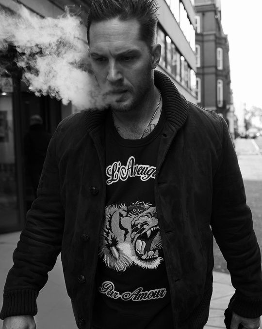 Tom Hardy photographed by Greg Williams for Esquire Magazine (January, 2017)