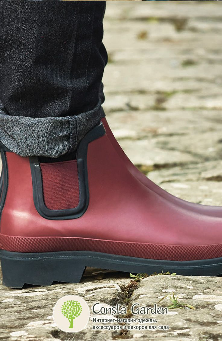 Ботинки-челси резиновые Briers.Универсальные ботинки Челси не только модные, но и чрезвычайно удобные.