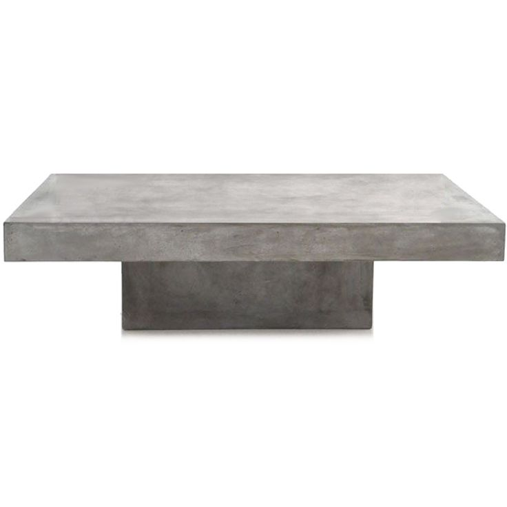 Concrete Dining Table Styling