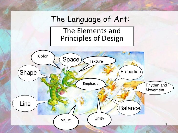 The Language of Art:                   The Elements and                  Principles of Design        Color                ...