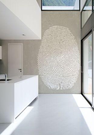 Italian wallpaper fingerprint.