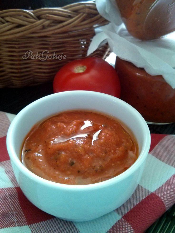 Sos z pieczonych warzyw / Roasted vegetables sauce
