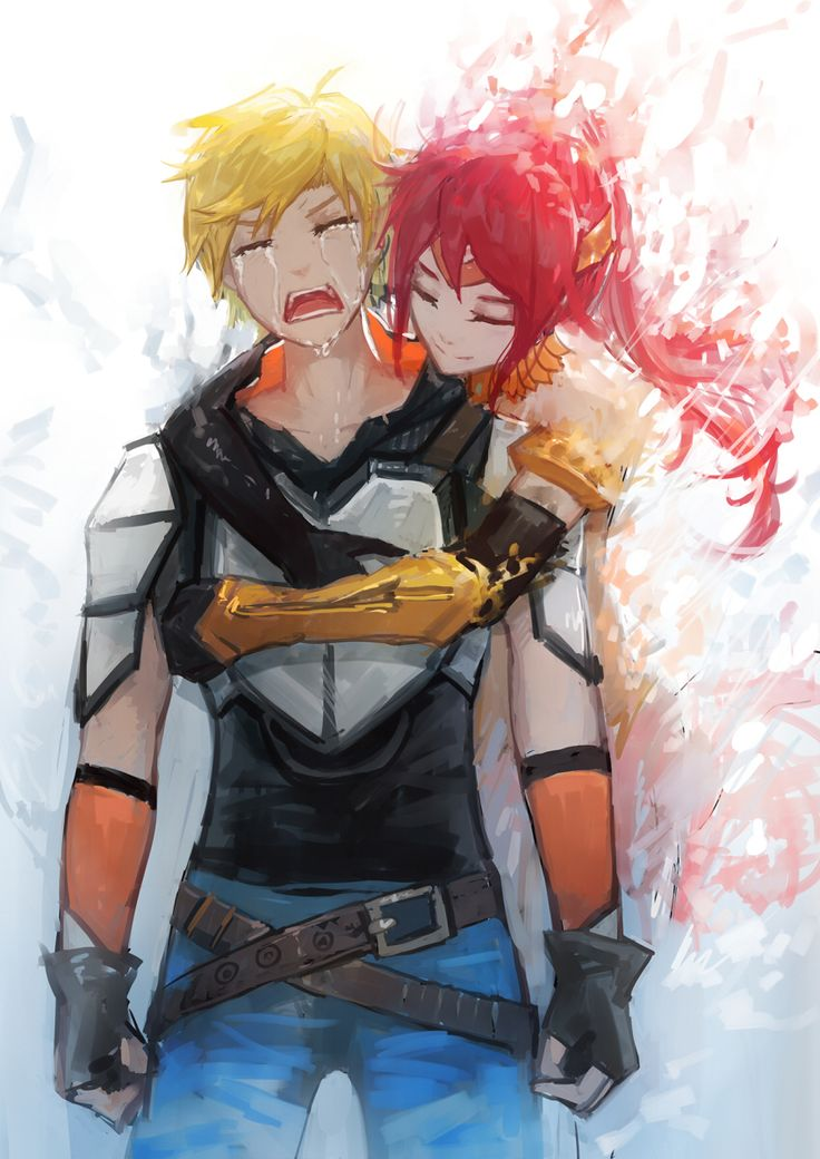 Lie down, try not to cry, sob like there's no tomorrow, and your best friends just died... We miss u Pyrrha and Arkos is slowly sinking