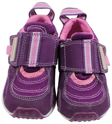 Tsukihoshi Hook and Loop Purple Sneaker