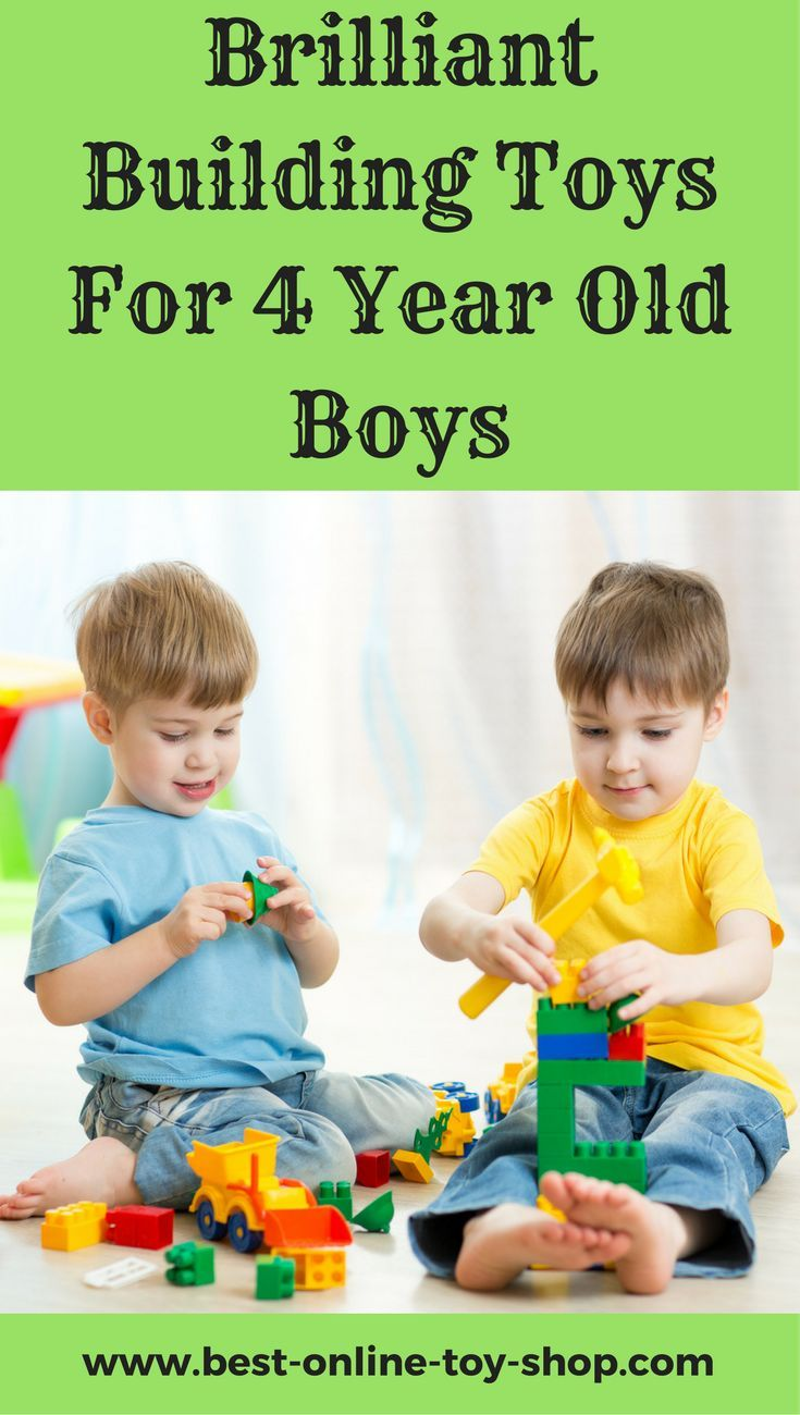Ultimate Building Toys For 4 Year Old Boys Perfect For Little