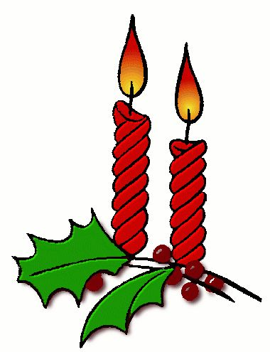 Holiday Clip Art | Free Christmas Clip Art Candles