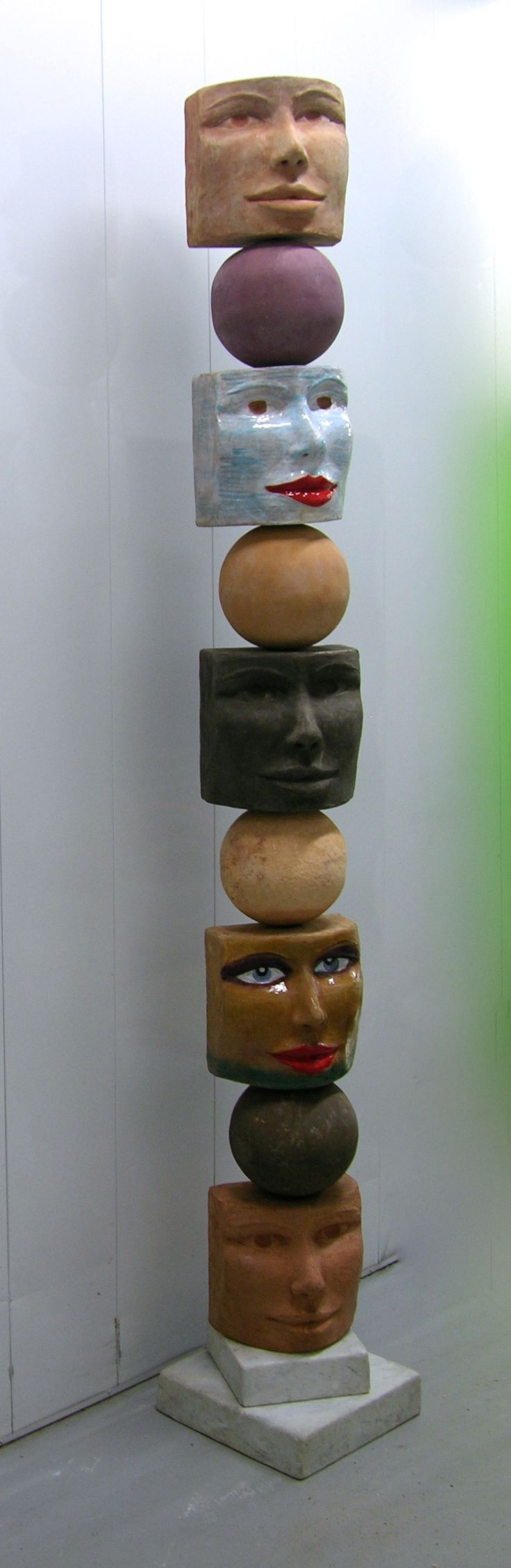 Contemporary Italian Totem Organic Sculpture by Ginestroni image 10