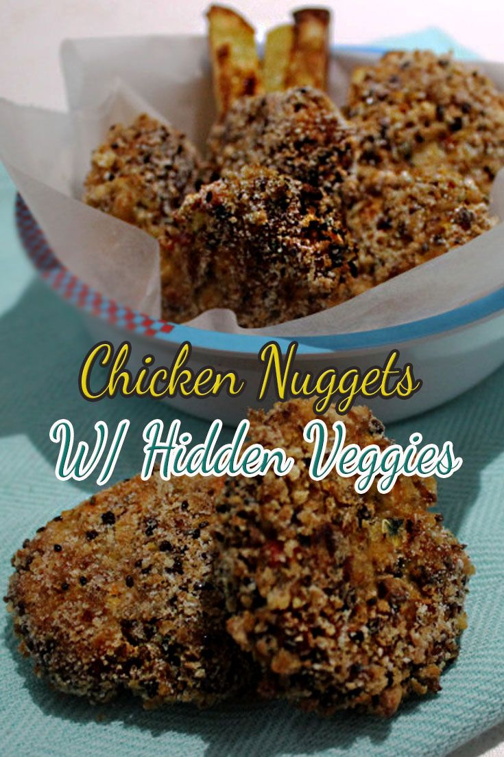This recipe is a massive #winner.  I haven't heard of 1 negative comment when you guys have made these, the kids have no idea of the veggies and gobble them down.