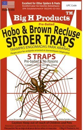 Trap spidey and keep home web free - Big H Products Hobo and Brown Recluse Spider Traps Big H Products