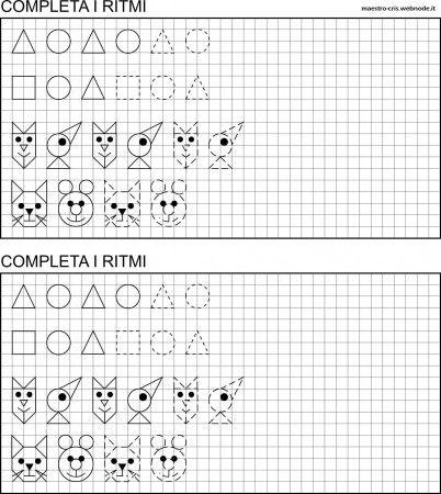 SCHEDA COMPLETA I RITMI MATEMATICA PRIMA.jpg 402×450 píxeles