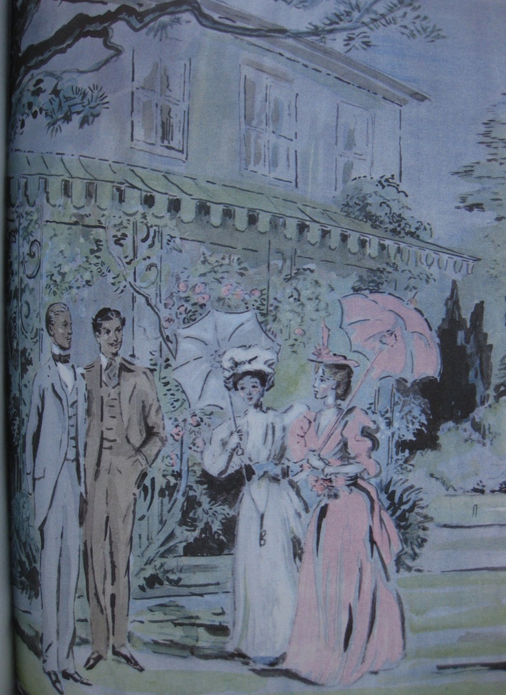 The Importance of Being Earnest by Oscar Wilde (1960). Illustrator - Cecil Beaton