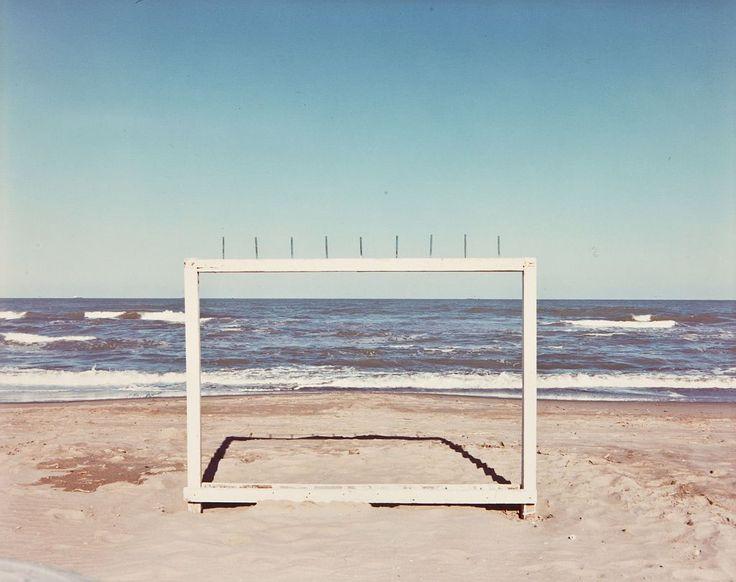 "Luigi Ghirri, Marina di Ravenna, 1986, from ""Paesaggio italiano"" (1980-1992)"