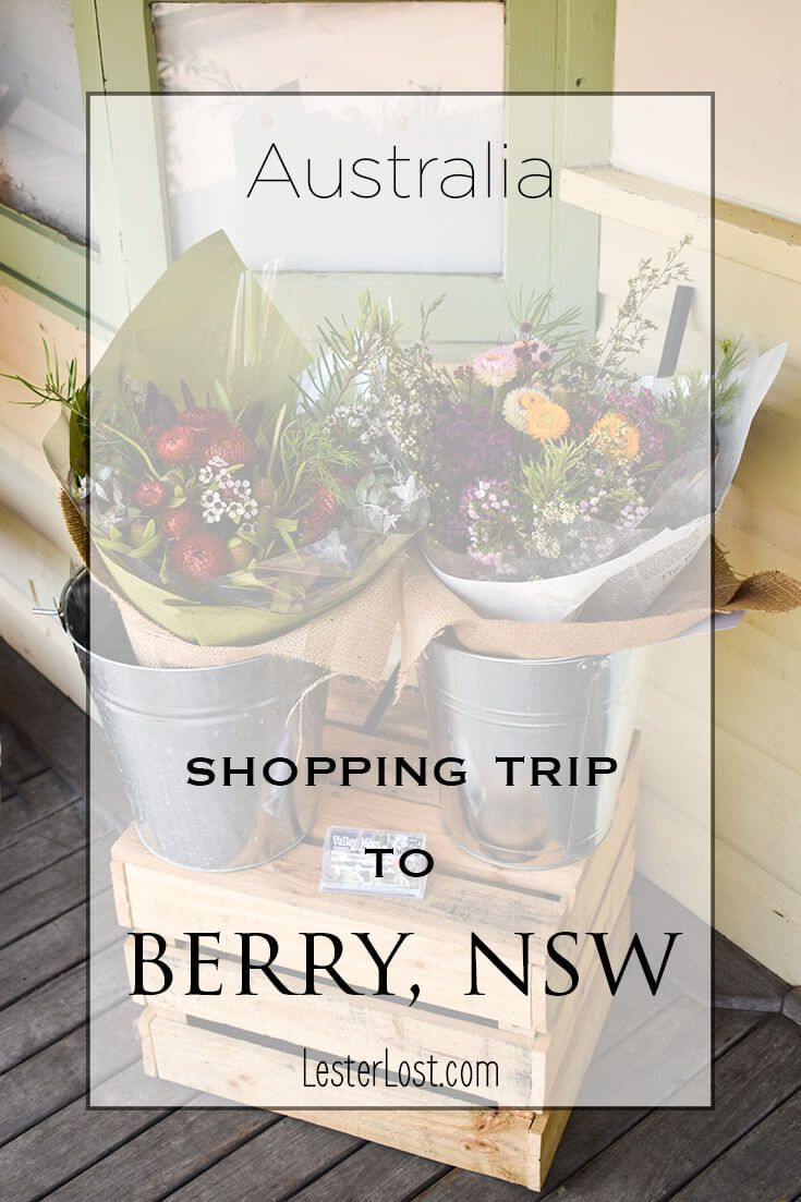 Berry is a charming country town in New South Wales, Australia. Take a day trip 2 hours south of Sydney and indulge in a spot of shopping and lunch at one of the cafes. via @Delphine LesterLost