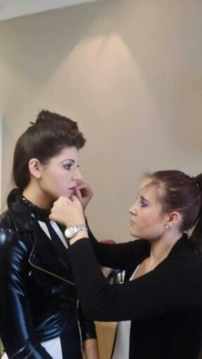 Make-up by Leona from Leona's Make-up Artistry for Anua school of performing Arts