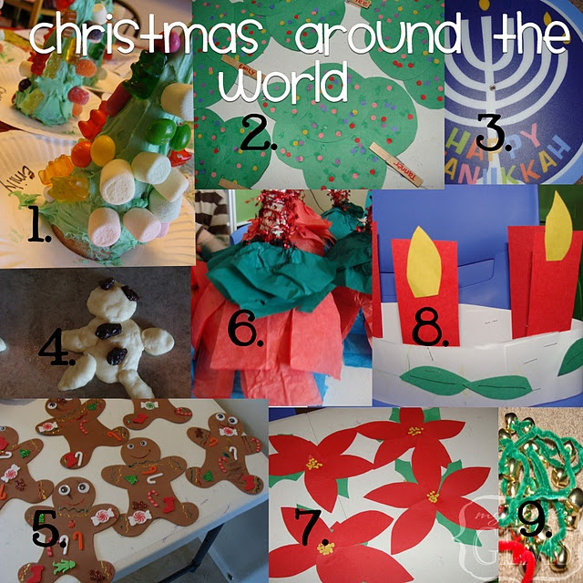 Holidays around the world christmas christmas around for Around the world crafts