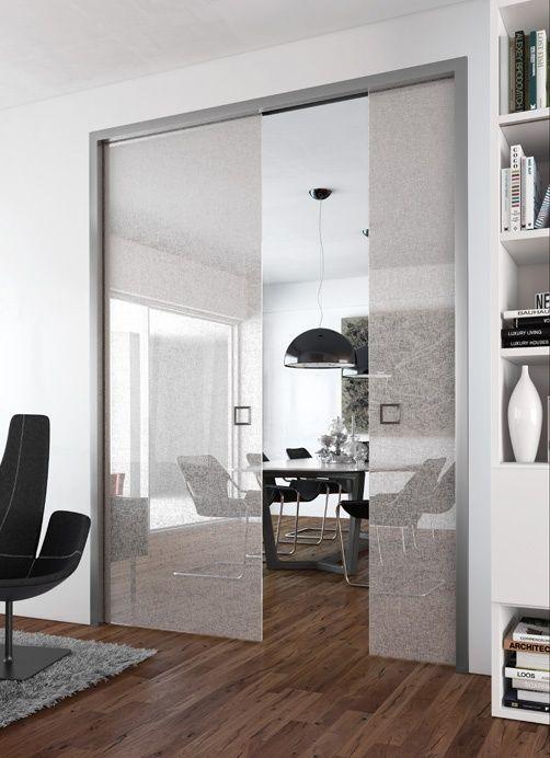 """Dressing & Porte Placard SOGAL : modèle de Porte coulissante """"Modèle Sogalslide® Panoramique®"""""""