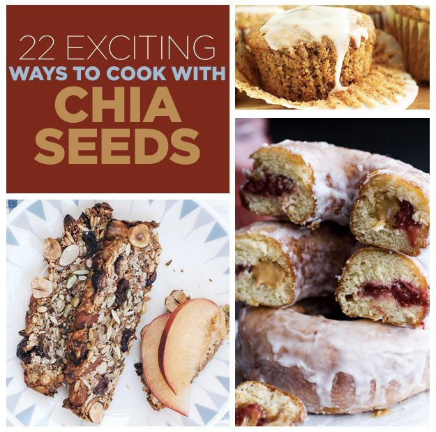 22 Exciting Ways To Cook With Chia Seeds