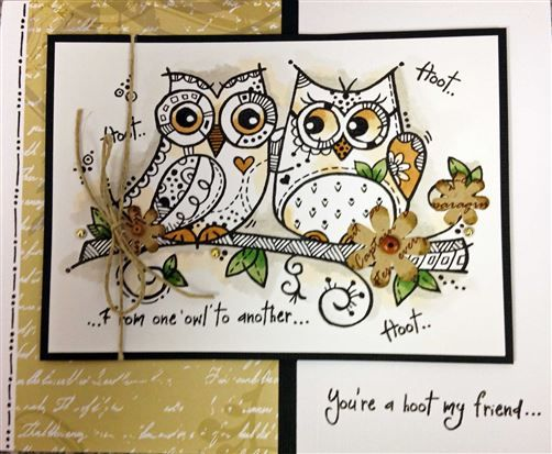 Woodware - Owl Love