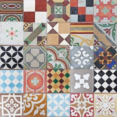 Mosaico hidr ulico mosaico hidr ulico pinterest for Carrelage retro
