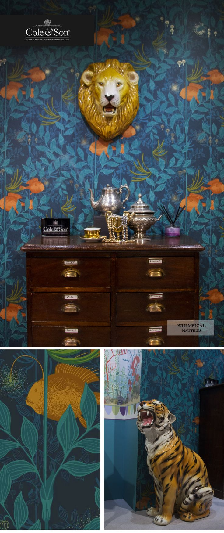 45 best images about whimsical on pinterest star wallpaper sons and cole and son. Black Bedroom Furniture Sets. Home Design Ideas