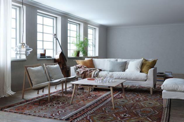 Easy Chair | Norrgavel )´(linne eller Tärnsjö läder natur/brun)